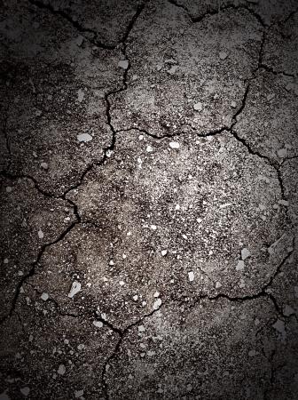 乾燥した暗い地面の背景