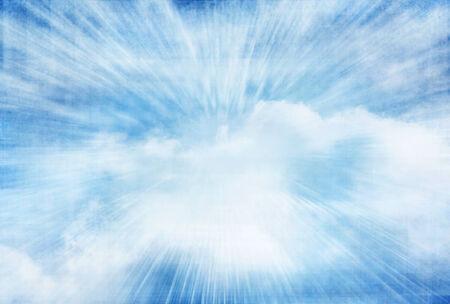clound: blue sky grunge background