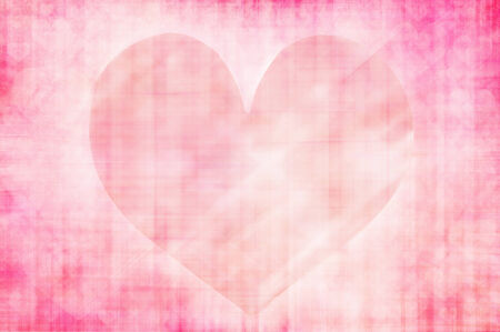 heart tone: pink grunge heart abstract  Stock Photo