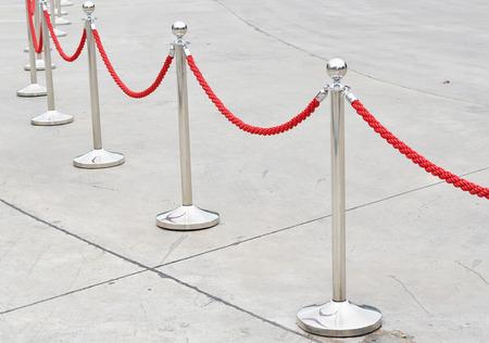 rope barrier: rope barrier