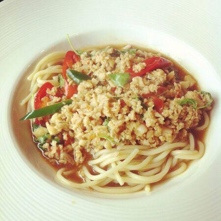 Spaghetti Standard-Bild