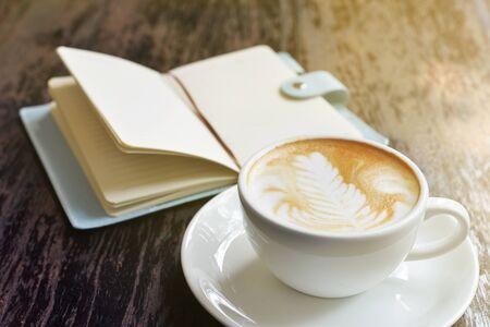熱いカプチーノ コーヒー 写真素材