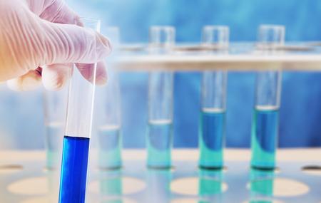 科学研究室での化学研究 写真素材