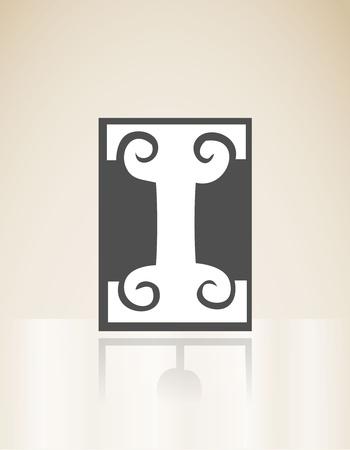 Art deco alphabet Stock Vector - 17963150