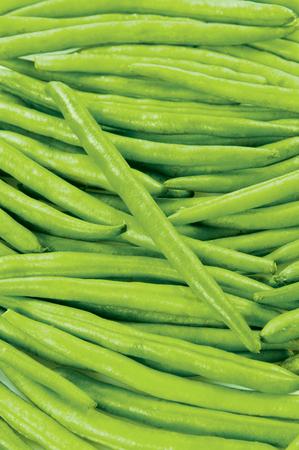 Green bean fresh vegetable raw food on background Stock Photo