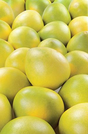 Pomelo juicy summer fruit raw food on background Stock Photo