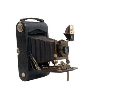 bellows: old bellows camera isolated