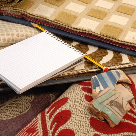 catalogs: catalogs of fabrics for home decoration