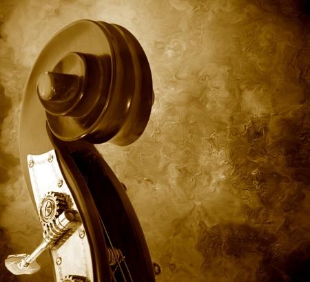 Basso Mast in un antico di sfondo  Archivio Fotografico - 9212460
