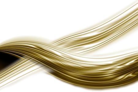 undulation golden card, white background photo