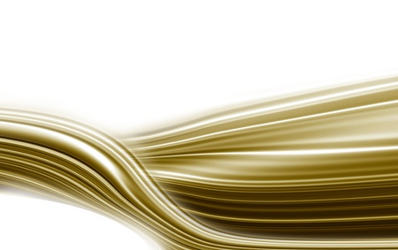 white background with a golden wave photo