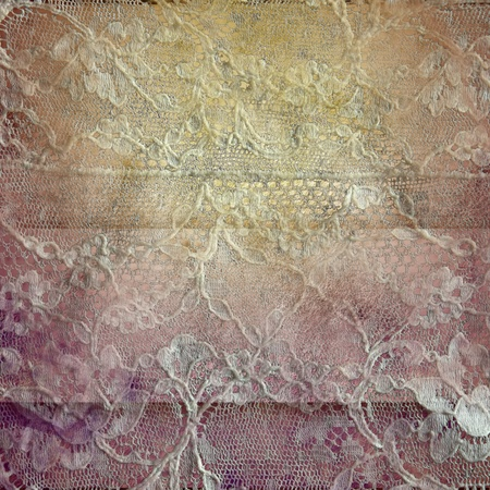 grunge old embroidery background Stock Photo - 12379797