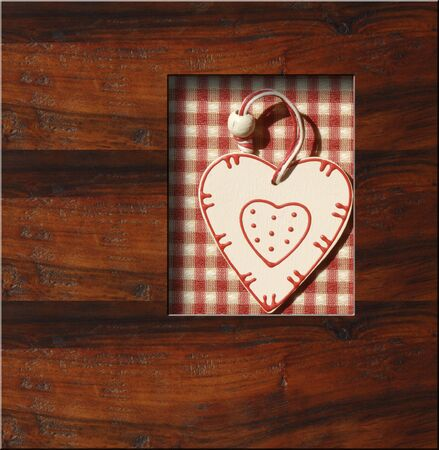love wooden background, country style, copy space Stock Photo - 14813502