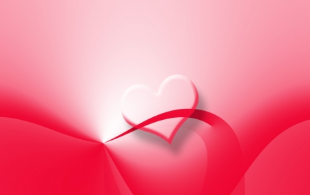 invitation background, bright red heart photo