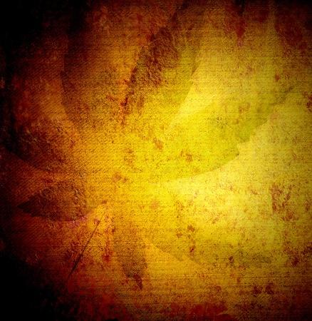 cannabis leaf on grunge canvas texture Stock Photo - 17513236