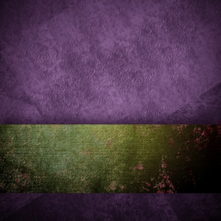 side bar: abstract purple background black design with vintage grunge background texture purple paper wallpaper for brochure or website background, elegant luxury green ribbon side bar banner for web template Stock Photo
