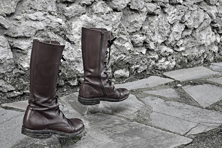 walking boots: concept way of life, walking boots alone