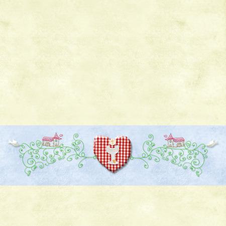 holy symbol: Primeros s�mbolos Sagrada Comuni�n invitation.Religious y espacio para texto o foto poner. Foto de archivo