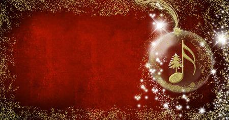 Christmas musical card.