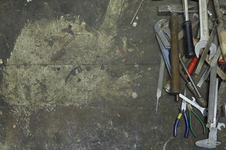 Werkzeuge in der Werkstatt