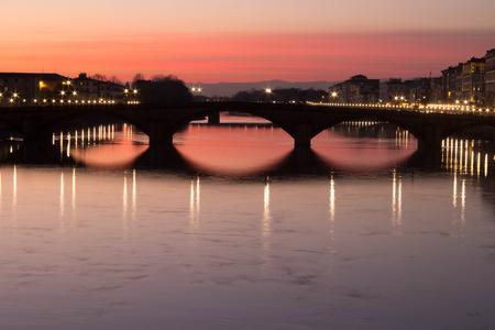 trinity: from trinity bridge - florence italy