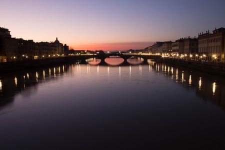 from trinity bridge florence italy