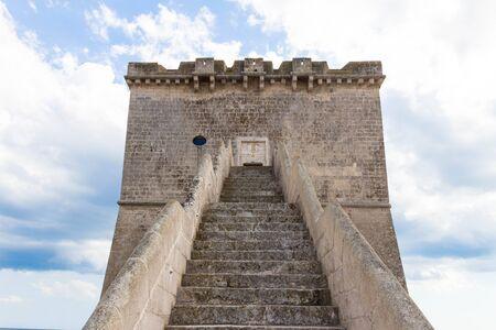 Lapilli Tower in front Archivio Fotografico