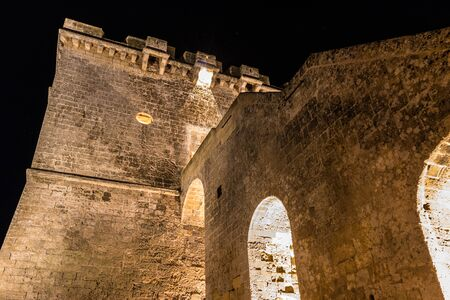 Lapilli Tower by night 02