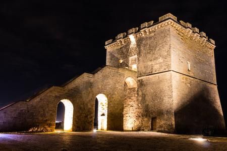Lapilli Tower by night 03 Archivio Fotografico