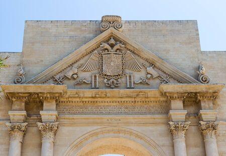 Naples Gate in Lecce 3 Archivio Fotografico