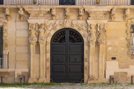 Lecce doorway