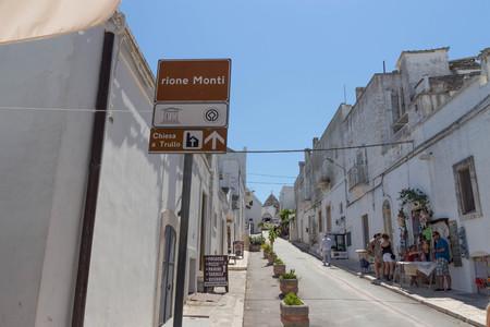 Alberobello street