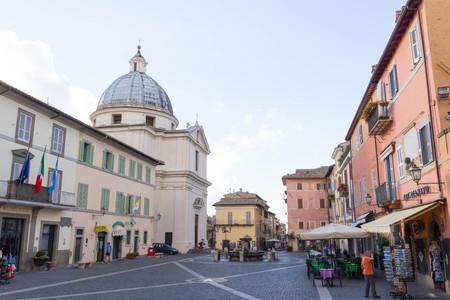 pontiff: Castel Gandolfo square