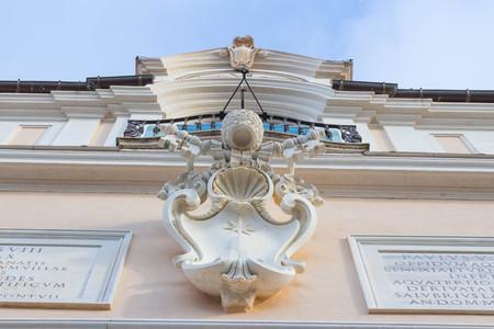 pontiff: Papal building detail