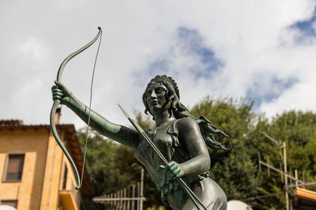diana: Goddess hunter diana fountain