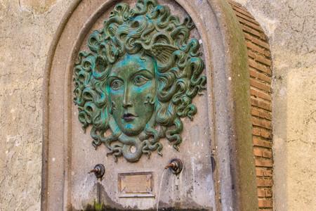 medusa: Fountain of Medusa in Nemi 2