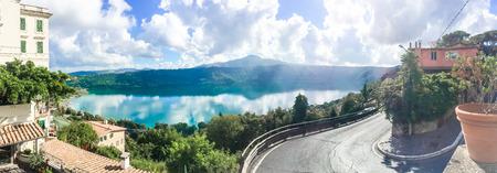 castel: Lake of Castel Gandolfo 2