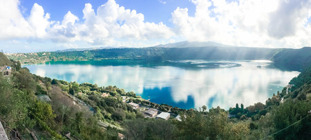castel: Lake of Castel Gandolfo 1