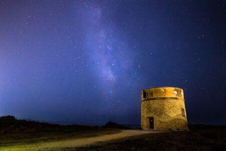 Milky way onTor Caldara