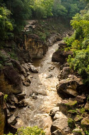 turbid: turbid river Stock Photo