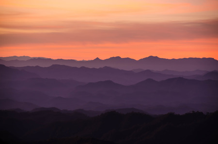 layers of mountains