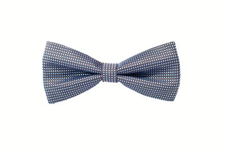 mens bow tie isolated on white background