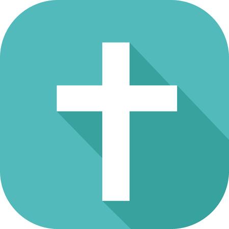 기독교 종교의 십자가 상징의 아이콘