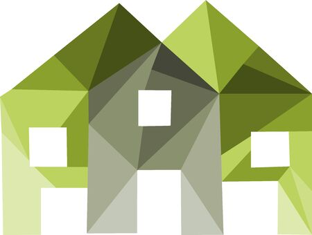 Modern, abstract and geometric icon