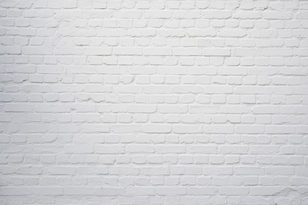 Rustic white brick wall used for house construction