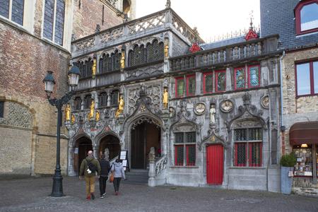 Brugge in the historic center of Bruges