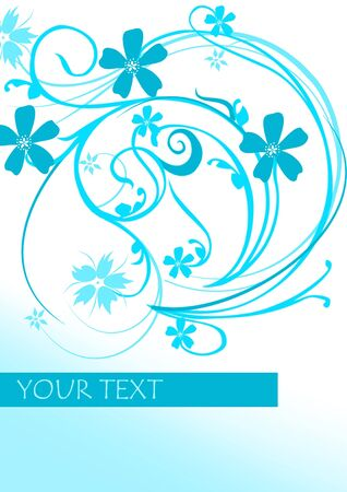 abstract flower Stock Photo - 7046965