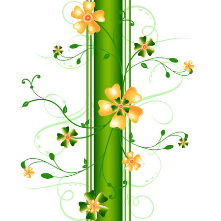 abstract floral vector composition Stock Vector - 7769060