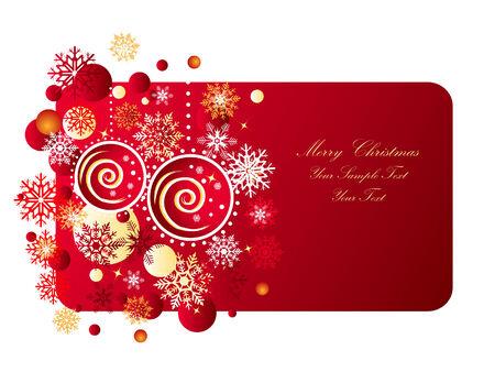Christmas Banner. Eps10 Vector Illustration  Illustration