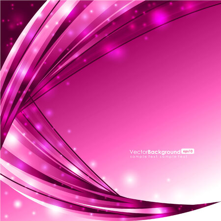 Glowing Pink Lines - Background  Illustration